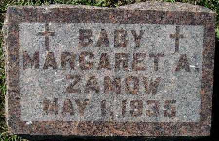 ZAMOW, MARGARET ALICE - Codington County, South Dakota | MARGARET ALICE ZAMOW - South Dakota Gravestone Photos