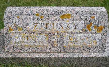 ZIELSKY, MATHILDA - Codington County, South Dakota | MATHILDA ZIELSKY - South Dakota Gravestone Photos