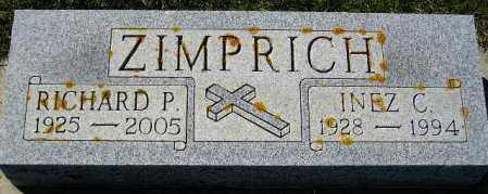 ZIMPRICH, RICHARD P. - Codington County, South Dakota | RICHARD P. ZIMPRICH - South Dakota Gravestone Photos