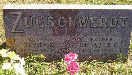 ZUGSCHWERDT, CHESTER CHARLES - Codington County, South Dakota | CHESTER CHARLES ZUGSCHWERDT - South Dakota Gravestone Photos