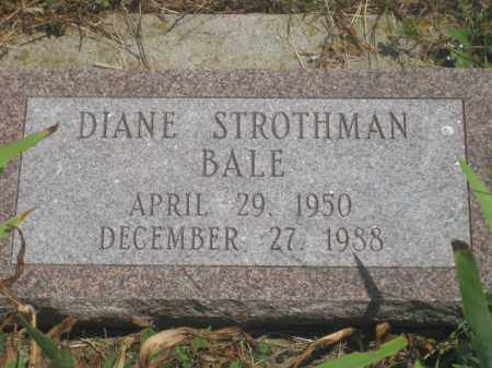 STROTHMAN BALE, DIANE - Custer County, South Dakota | DIANE STROTHMAN BALE - South Dakota Gravestone Photos
