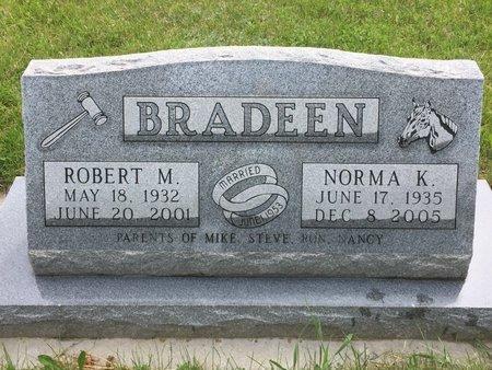 BRADEEN, NORMA K. - Custer County, South Dakota | NORMA K. BRADEEN - South Dakota Gravestone Photos