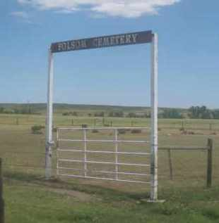 *FOLSOM CEMETERY, FRONT GATE - Custer County, South Dakota | FRONT GATE *FOLSOM CEMETERY - South Dakota Gravestone Photos