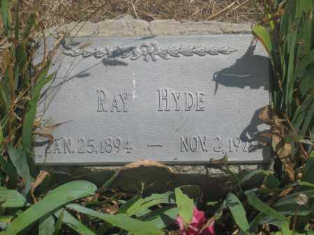 HYDE, RAY - Custer County, South Dakota | RAY HYDE - South Dakota Gravestone Photos