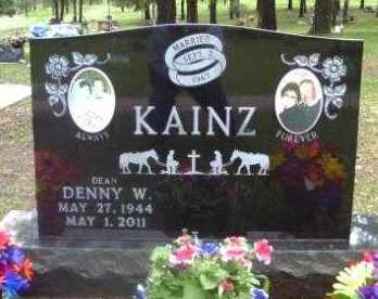 KAINZ, DENNY - Custer County, South Dakota | DENNY KAINZ - South Dakota Gravestone Photos