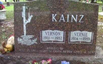 KAINZ, VERNON - Custer County, South Dakota | VERNON KAINZ - South Dakota Gravestone Photos