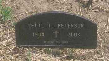 PETERSON, CECIL  I. - Custer County, South Dakota | CECIL  I. PETERSON - South Dakota Gravestone Photos