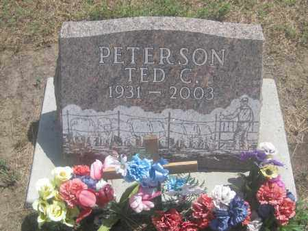 PETERSON, TED  C. - Custer County, South Dakota | TED  C. PETERSON - South Dakota Gravestone Photos
