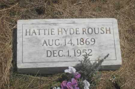 ROUSH, HATTIE - Custer County, South Dakota | HATTIE ROUSH - South Dakota Gravestone Photos