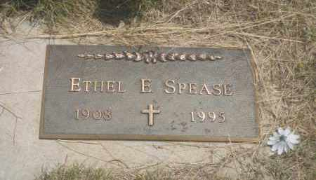 SPEASE, ETHEL  E. - Custer County, South Dakota | ETHEL  E. SPEASE - South Dakota Gravestone Photos