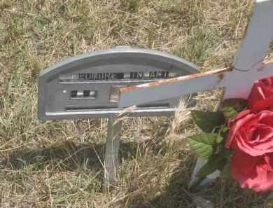 WEDMORE, INFANT - Custer County, South Dakota   INFANT WEDMORE - South Dakota Gravestone Photos