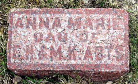 ABTS, ANNA - Davison County, South Dakota | ANNA ABTS - South Dakota Gravestone Photos