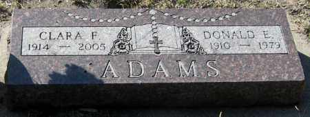 KROGMAN ADAMS, CLARA - Davison County, South Dakota | CLARA KROGMAN ADAMS - South Dakota Gravestone Photos