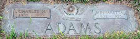 ADAMS, CHARLES - Davison County, South Dakota | CHARLES ADAMS - South Dakota Gravestone Photos