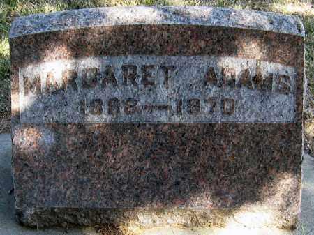 ST. BONNETT ADAMS, MARGARET - Davison County, South Dakota | MARGARET ST. BONNETT ADAMS - South Dakota Gravestone Photos