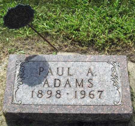 ADAMS, PAUL - Davison County, South Dakota | PAUL ADAMS - South Dakota Gravestone Photos