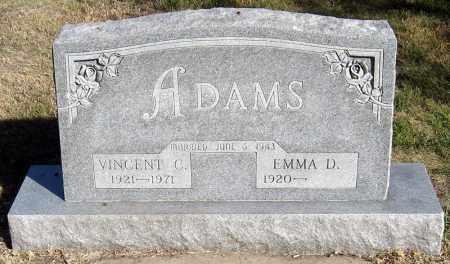 ADAMS, EMMA - Davison County, South Dakota | EMMA ADAMS - South Dakota Gravestone Photos