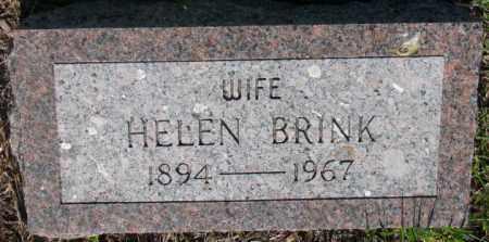 BRINK, HELEN - Davison County, South Dakota   HELEN BRINK - South Dakota Gravestone Photos