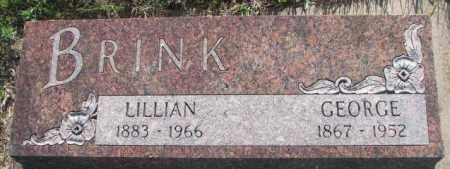BRINK, LILLIAN - Davison County, South Dakota | LILLIAN BRINK - South Dakota Gravestone Photos