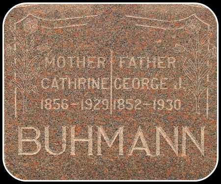 BUHMANN, CATHRINE - Davison County, South Dakota | CATHRINE BUHMANN - South Dakota Gravestone Photos