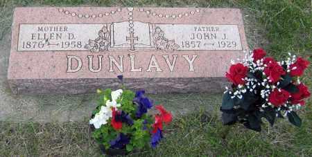 DUNLAVY, ELLEN - Davison County, South Dakota | ELLEN DUNLAVY - South Dakota Gravestone Photos
