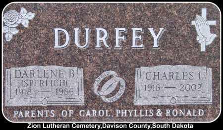 DURFEY, DARLENE B. - Davison County, South Dakota | DARLENE B. DURFEY - South Dakota Gravestone Photos