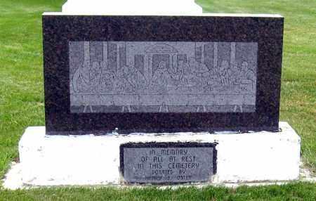 *EMSLEY, IN MEMORY STONE - Davison County, South Dakota   IN MEMORY STONE *EMSLEY - South Dakota Gravestone Photos