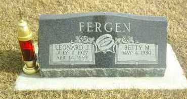 FERGEN, LEONARD - Davison County, South Dakota   LEONARD FERGEN - South Dakota Gravestone Photos