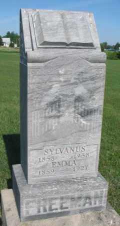 FREEMAN, EMMA - Davison County, South Dakota   EMMA FREEMAN - South Dakota Gravestone Photos