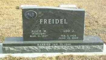 FREIDEL, LEO - Davison County, South Dakota | LEO FREIDEL - South Dakota Gravestone Photos