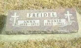 FREIDEL, NONIE - Davison County, South Dakota   NONIE FREIDEL - South Dakota Gravestone Photos