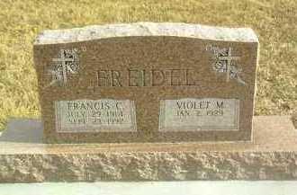 FREIDEL, FRANCIS - Davison County, South Dakota   FRANCIS FREIDEL - South Dakota Gravestone Photos