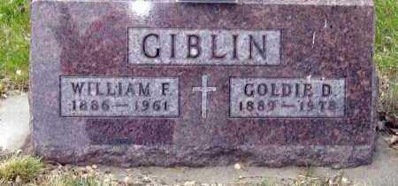 GIBLIN, GOLDIE - Davison County, South Dakota | GOLDIE GIBLIN - South Dakota Gravestone Photos