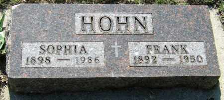 HOHN, FRANK - Davison County, South Dakota | FRANK HOHN - South Dakota Gravestone Photos