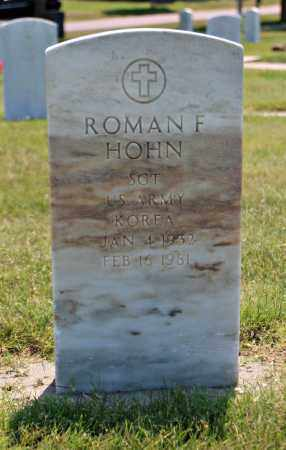 HOHN, ROMAN - Davison County, South Dakota   ROMAN HOHN - South Dakota Gravestone Photos