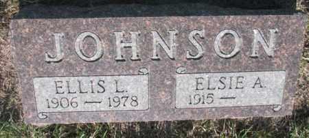 JOHNSON, ELLIS L. - Davison County, South Dakota | ELLIS L. JOHNSON - South Dakota Gravestone Photos