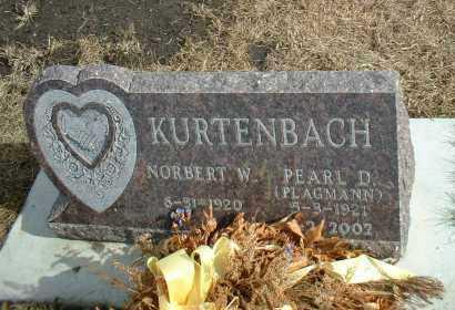 KURTENBACH, NORBERT - Davison County, South Dakota | NORBERT KURTENBACH - South Dakota Gravestone Photos