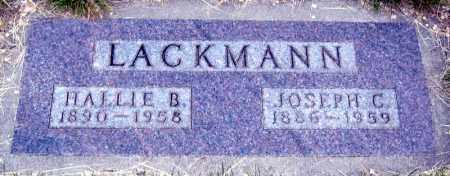LACKMANN, HALLIE - Davison County, South Dakota   HALLIE LACKMANN - South Dakota Gravestone Photos