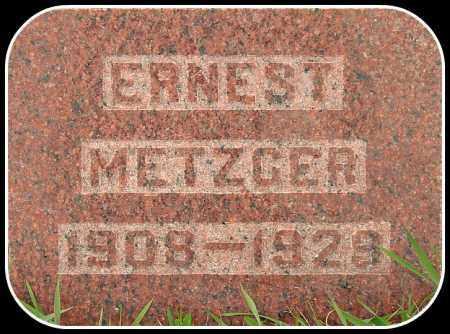 METZGER, ERNEST - Davison County, South Dakota | ERNEST METZGER - South Dakota Gravestone Photos