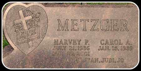 METZGER, HARVEY P. - Davison County, South Dakota | HARVEY P. METZGER - South Dakota Gravestone Photos