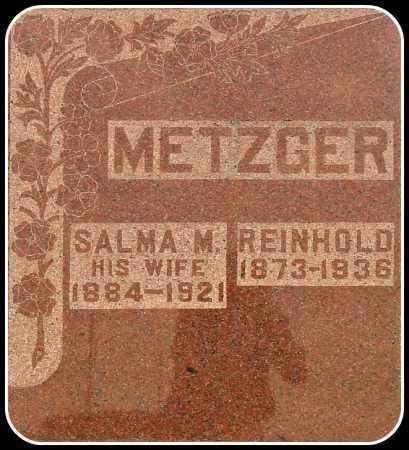 METZGER, SALMA M. - Davison County, South Dakota | SALMA M. METZGER - South Dakota Gravestone Photos