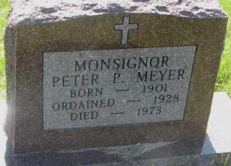 MEYER, PETER P. (MONSIGNOR) - Davison County, South Dakota   PETER P. (MONSIGNOR) MEYER - South Dakota Gravestone Photos