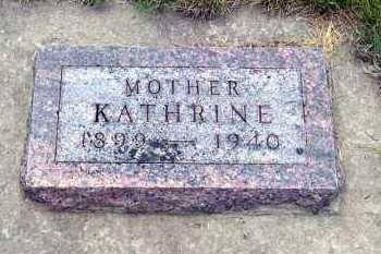 MIILER, KATHRINE - Davison County, South Dakota | KATHRINE MIILER - South Dakota Gravestone Photos