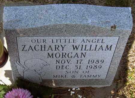 MORGAN, ZACHARY - Davison County, South Dakota   ZACHARY MORGAN - South Dakota Gravestone Photos