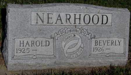 NEARHOOD, HAROLD - Davison County, South Dakota   HAROLD NEARHOOD - South Dakota Gravestone Photos