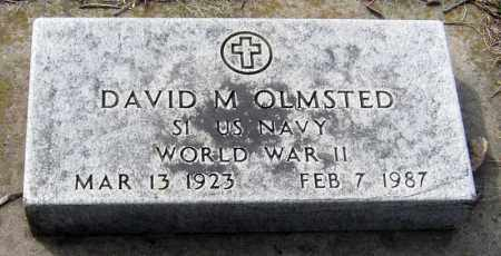 OLMSTED, DAVID - Davison County, South Dakota | DAVID OLMSTED - South Dakota Gravestone Photos