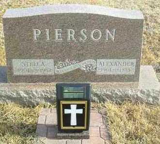 PIERSON, STELLA - Davison County, South Dakota | STELLA PIERSON - South Dakota Gravestone Photos