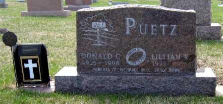 PUETZ, DONALD - Davison County, South Dakota | DONALD PUETZ - South Dakota Gravestone Photos