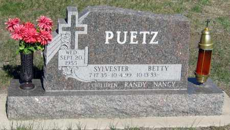 PUETZ, SYLVESTER - Davison County, South Dakota | SYLVESTER PUETZ - South Dakota Gravestone Photos