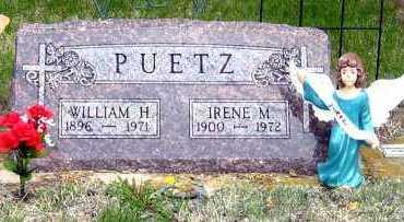 MUTZIGER PUETZ, IRENE - Davison County, South Dakota | IRENE MUTZIGER PUETZ - South Dakota Gravestone Photos